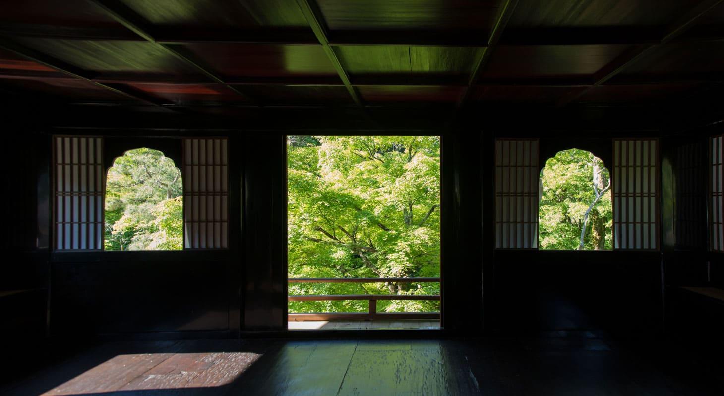 銀閣寺参拝について